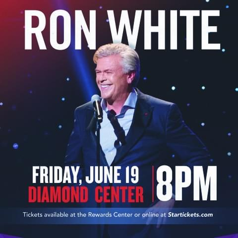 6/19: Ron White at The Diamond Center