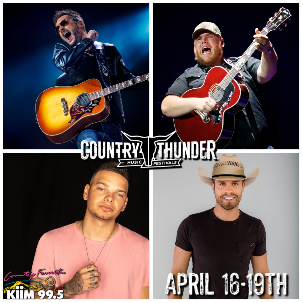 4/16 – 4/19: Country Thunder