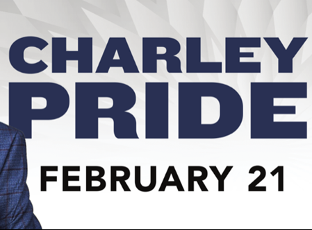 2/21: Charley Pride at The Diamond Center