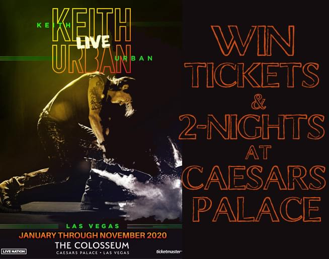 Keith Urban Live – Las Vegas!