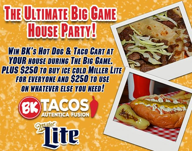 The ULTIMATE Big Game House Party!