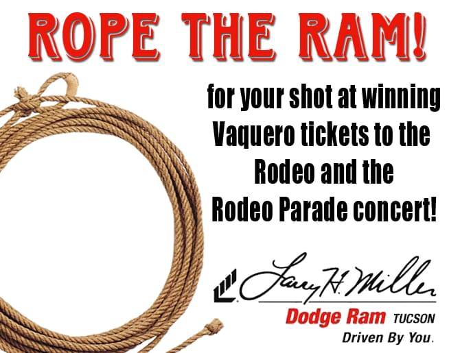 Rope The Ram with Larry H Miller Tucson Dodge Ram