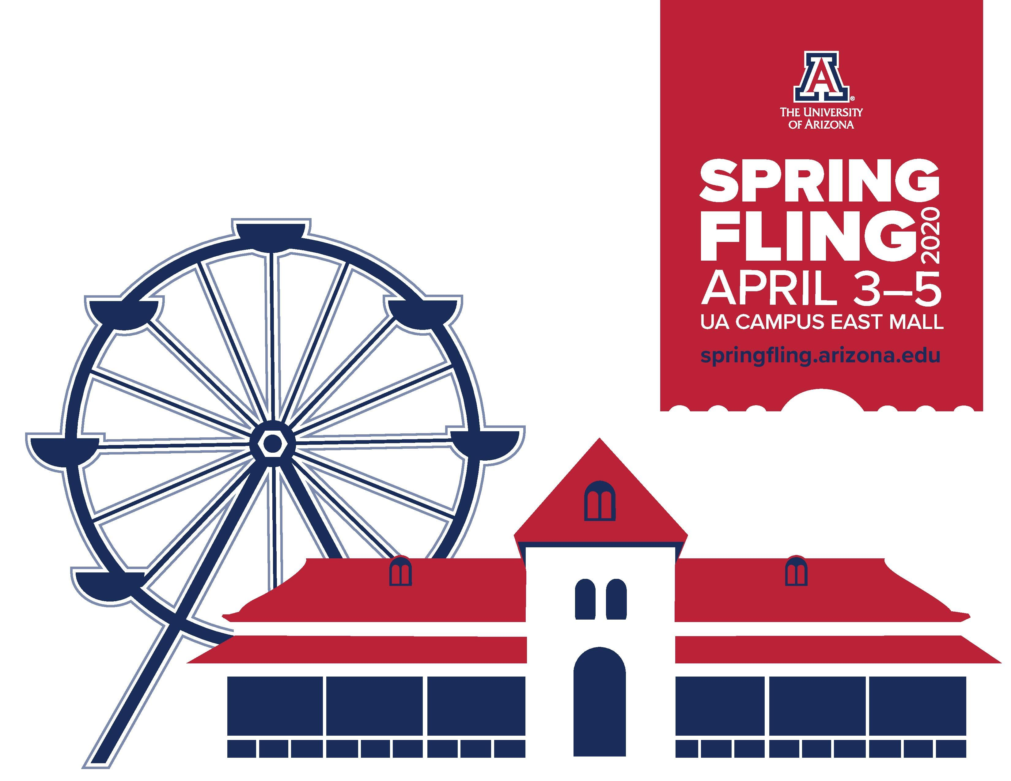 CANCELLED 4/3 – 4/5: Spring Fling at UA Mall