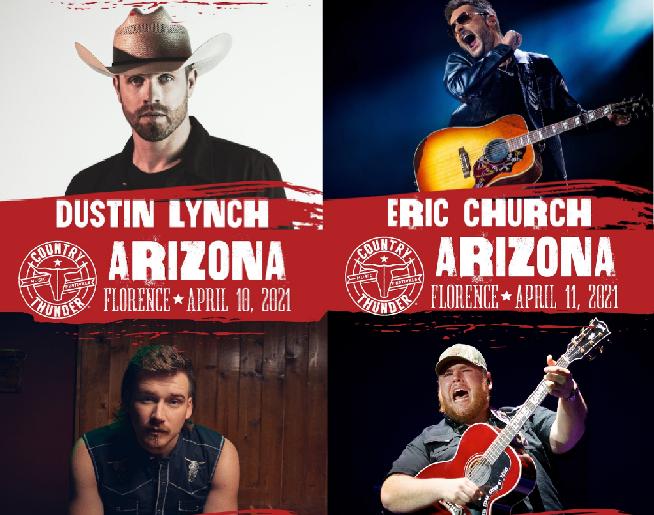 Country Thunder Arizona NEW DATES!