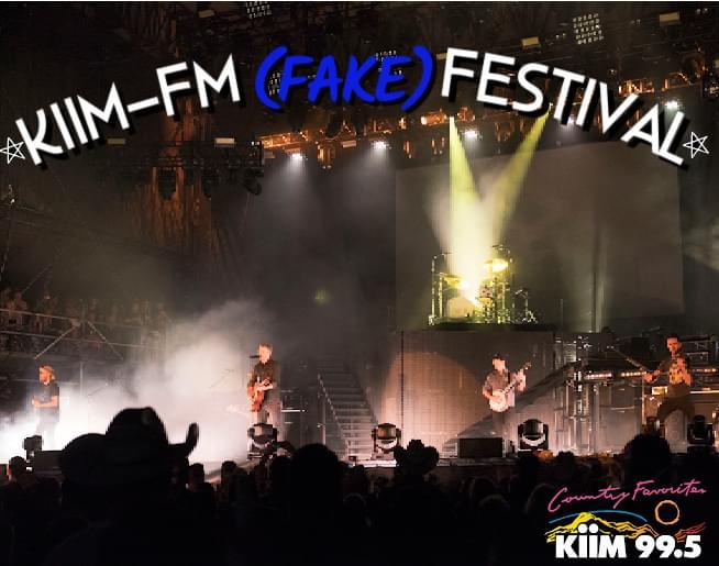 KiiM-FM Fake Festival!