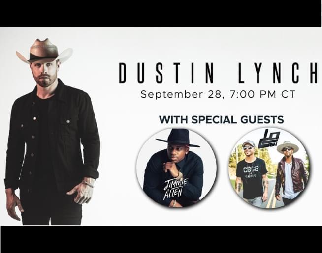Dustin Lynch, Jimmie Allen and LoCash Livestream!