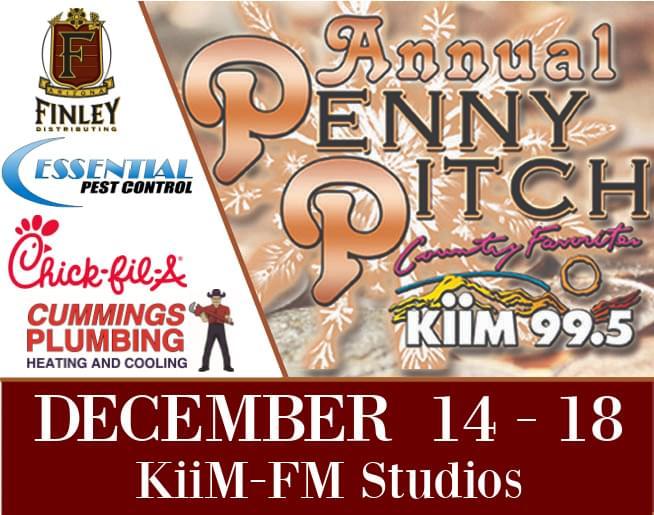 25th Annual KiiM-FM Penny Pitch