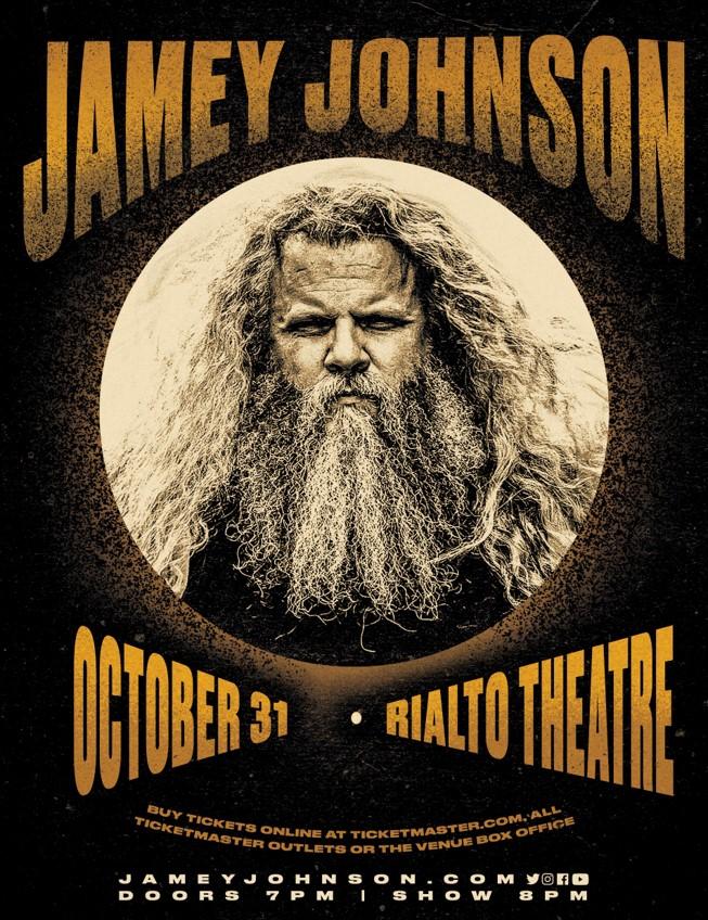 10/31/21 – Jamey Johnson at Rialto Theatre