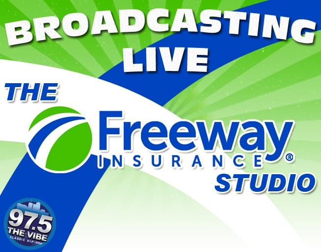 Broadcasting From The Freeway Insurance Studio