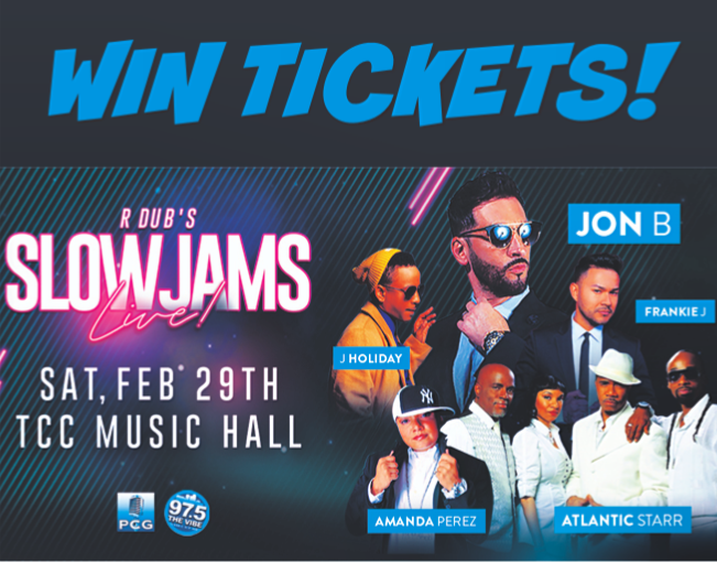 Win Slow Jams LIVE Tickets!