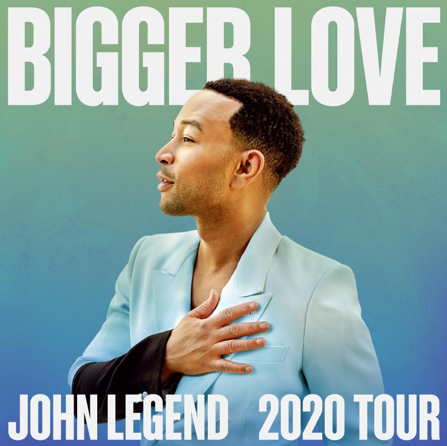 9/20: John Legend at AVA Amphitheater