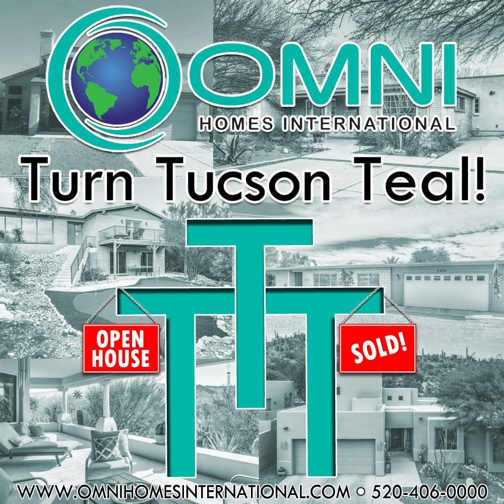 3/1: Turn Tucson Teal at OMNI Homes International
