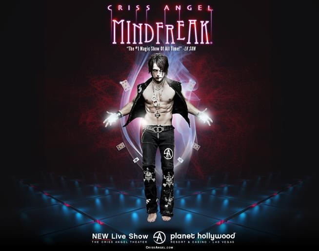 Criss Angel Mindfreak  Live in LAS VEGAS!