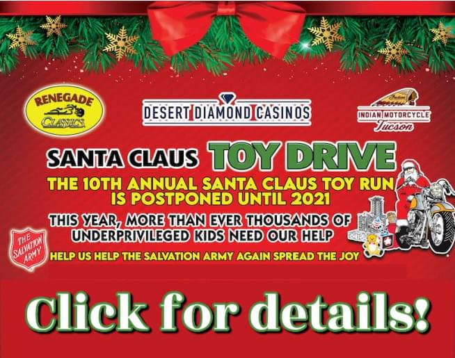 Santa Claus Toy Drive