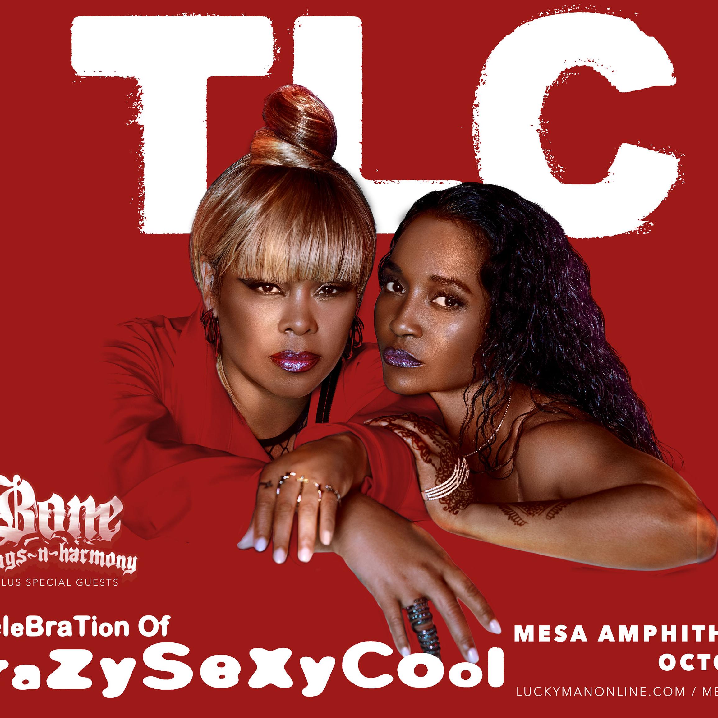 10/6: TLC & Bone Thugs N Harmony at Mesa Amphitheatre
