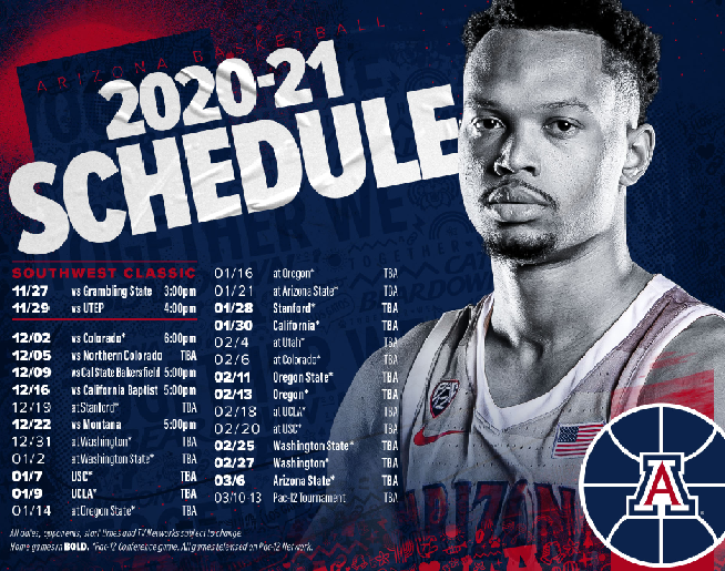 20-21 Arizona Basketball Schedule