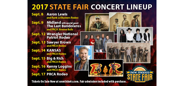 State Fair Concert Lineup | September 8 – 17
