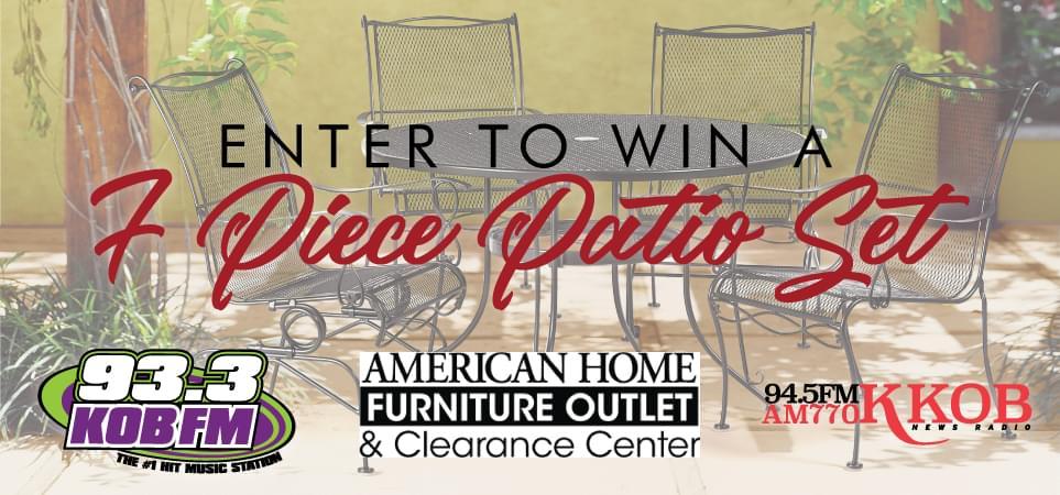 Win a 7 Piece Patio Furniture Contest