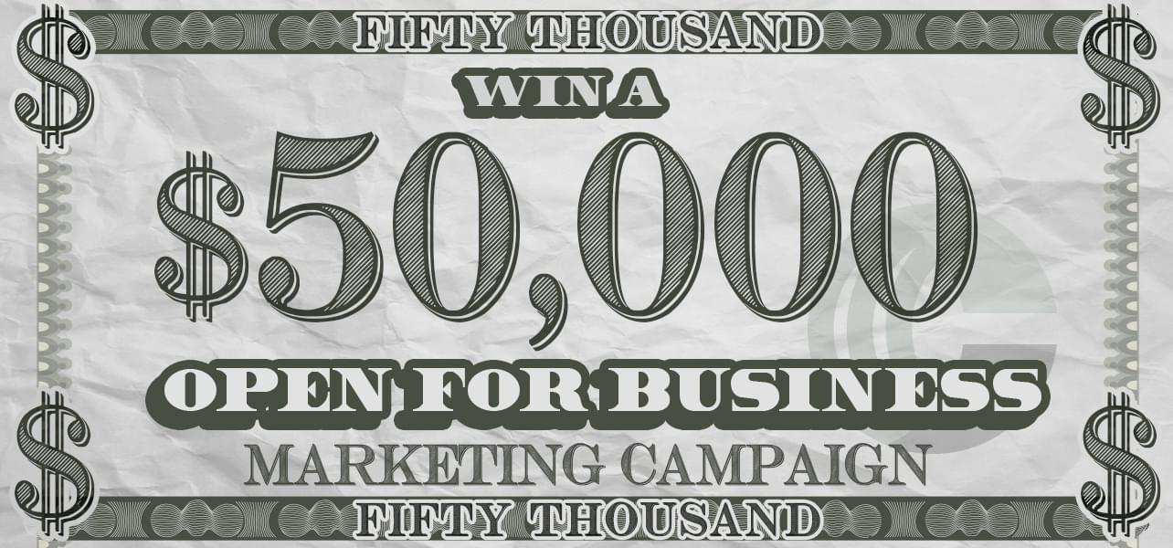 Win A $50,000 Marketing Campaign