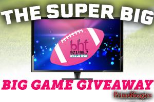 The Super Big Big Game Giveaway