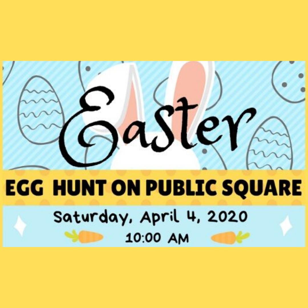 Easter Egg Hunt in WB