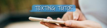 TEXTING TUTOR UPDATE: CAN SHE ASK HER EX TO HELP PAY FOR CHRISTMAS?