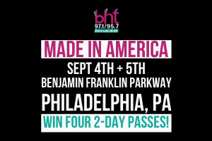 Win Passes to Made In America Fest