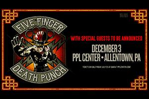 Five Finger Death Punch at PPL Center
