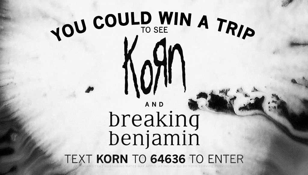 Freak Out with Korn and Breaking Benjamin