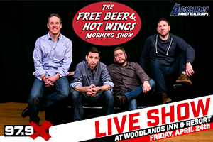 Free Beer & Hot Wings LIVE