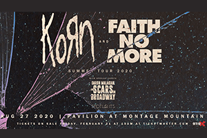 979X Presents Korn + Faith No More