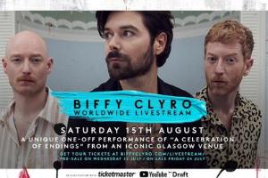 Enter to Win: Biffy Clyro Livestream