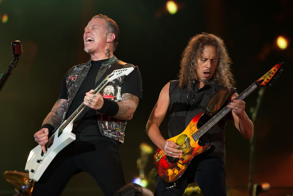Watch Metallica's James Hetfield and Kirk Hammett Perform The Star-Spangled Banner [VIDEO]