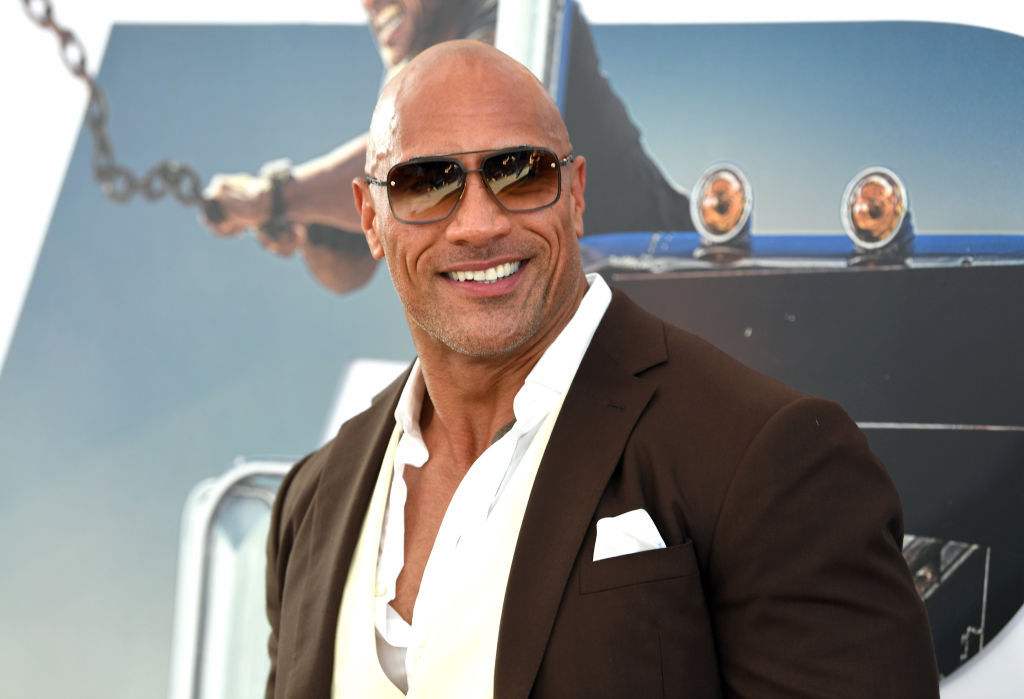 This Police Officer Could Have a Future as Dwayne 'The Rock' Johnson's Stunt Double