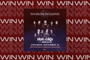Enter to Win: 979X Presents Breaking Benjamin Tickets