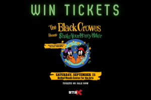 Enter To Win: Black Crowes Tickets