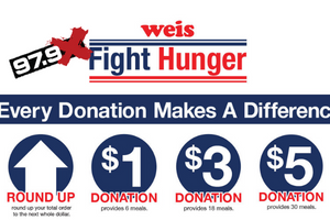 Weis Fight Hunger Campaign