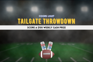 Win with the Coors Light Tailgate Throwdown