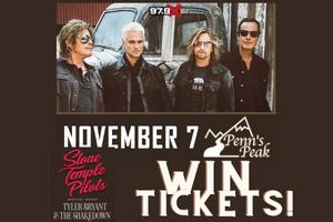 Win Stone Temple Pilot Tickets