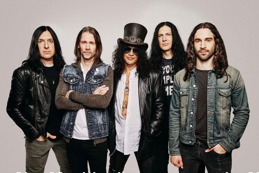Slash Featuring Myles Kennedy and The Conspirators Release Official Music Video for 'The River Is Rising'
