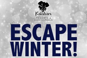 Escape Winter at Kalahari!