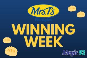 Mrs. T's Winning Week