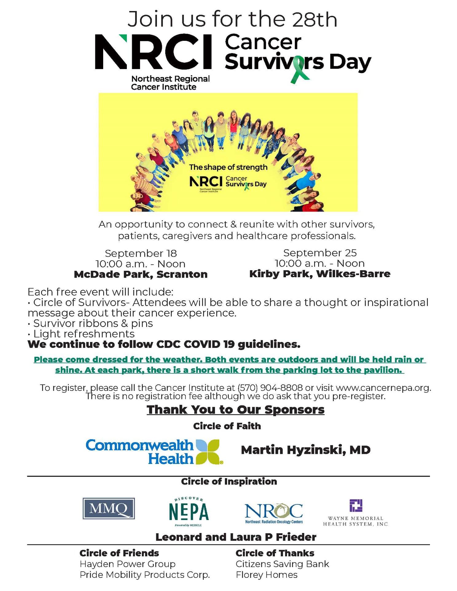 28th Cancer Survivors Day