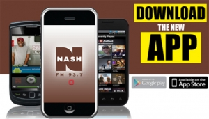 Download the NASH FM 93.7 App for your Phone or Tablet