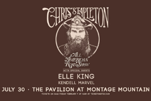 Chris Stapleton at Montage Mountain