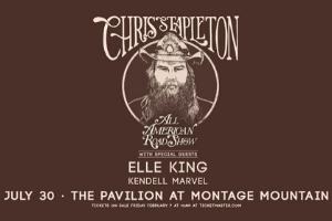Chris Stapleton at Montage Mountain