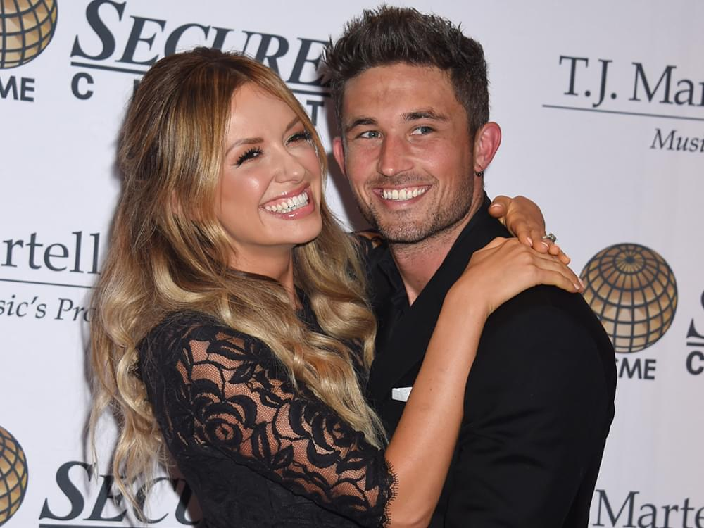 "Listen to Carly Pearce's New Duet With Hubby Michael Ray, ""Finish Your Sentences"""