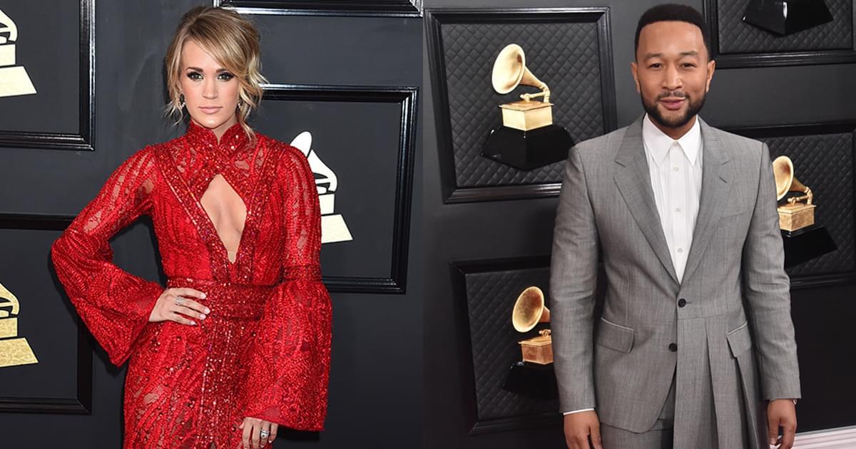 "Watch Carrie Underwood & John Legend's Majestic New Video for ""Hallelujah"""