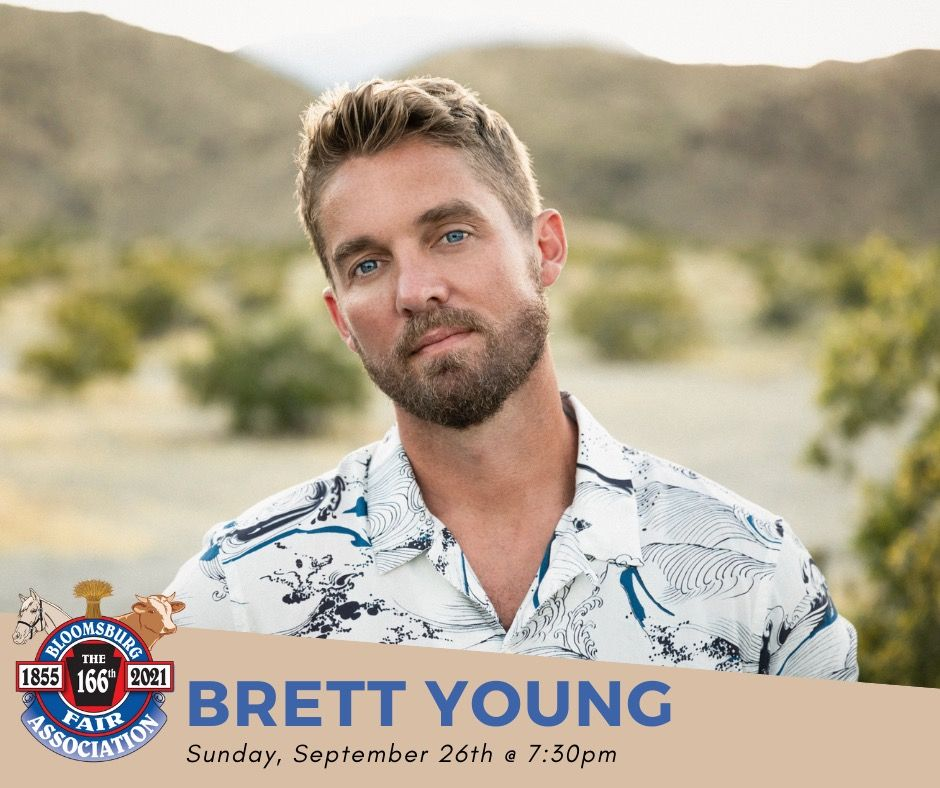 Brett Young at the Bloomsburg Fair