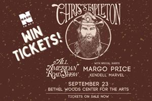 Win Tickets to Chris Stapleton!
